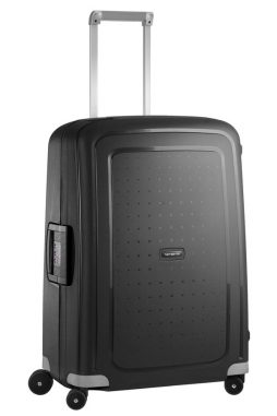 Samsonite S'Cure 69cm Spinner Suitcase in Black
