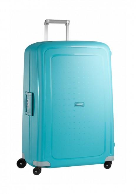 Samsonite S'Cure 81cm Suitcase in Aqua
