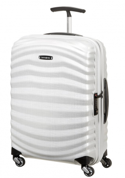 Samsonite Lite-Shock 55cm Suitcase in Off White