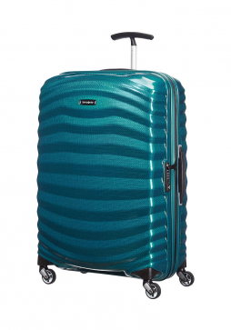 Samsonite Lite-Shock 69cm Suitcase in Petrol Blue