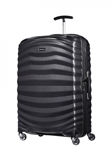 Samsonite Lite-Shock 75cm Suitcase in Black