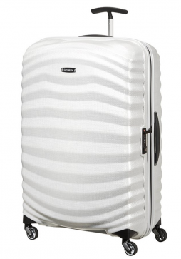 Samsonite Lite-Shock 75cm Suitcase in Off White