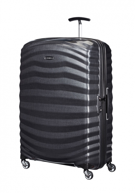 Samsonite Lite-Shock 81cm Suitcase in Black