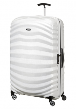 Samsonite Lite-Shock 81cm Suitcase in Off White
