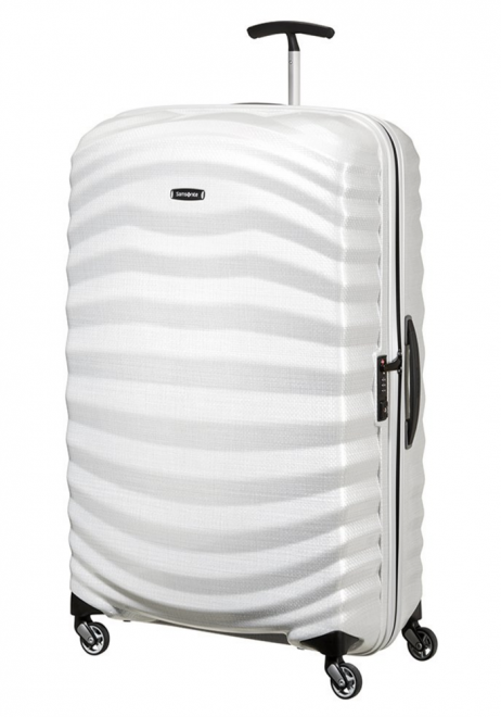 Samsonite Lite-Shock 81cm Suitcase in Off White