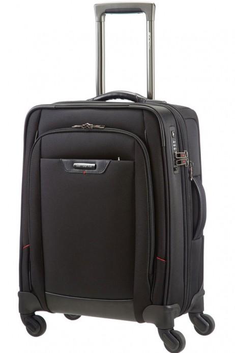 Samsonite Pro-DLX 55cm Spinner Suitcase in Black