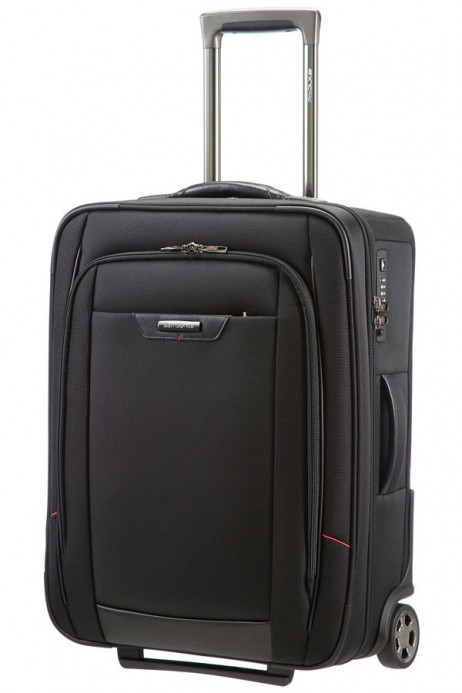 Samsonite Pro-DLX 4 55cm 2-Wheel Suitcase in Black