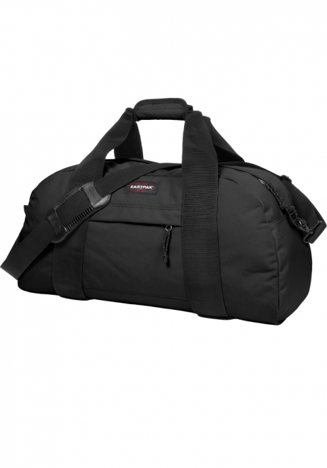 Side View of a Black Eastpak Station Duffle Bag