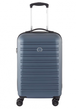 Delsey Segur 55cm Spinner Suitcase in Blue