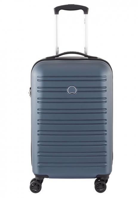 Delsey Segur 55cm Spinner Suitcase in Blue