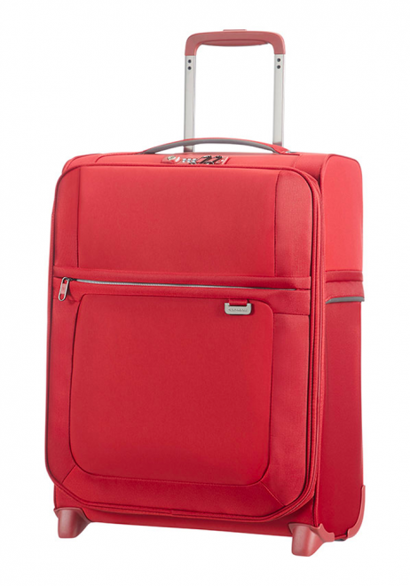 Samsonite Uplite 55cm Upright Suitcase in red