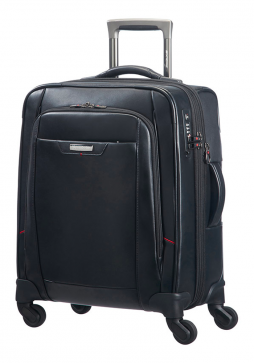 Samsonite Pro-DLX4 Leather 55cm Spinner Case