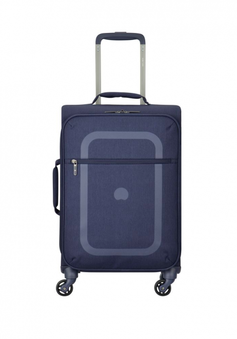 Delsey Dauphine 55cm Spinner Suitcase in Blue