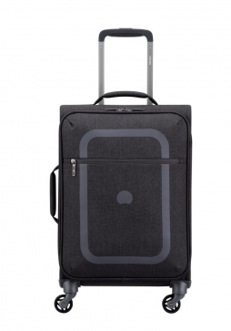 Delsey Dauphine 3 55cm Spinner Suitcase in Pepper Grey