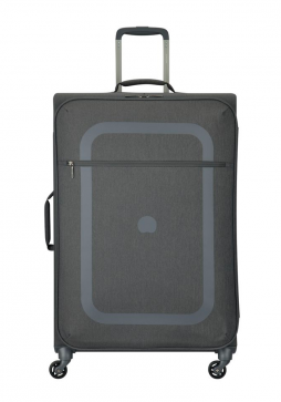 Delsey Dauphine 77cm Spinner Suitcase in Pepper Grey