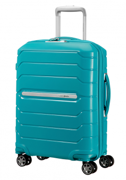 Samsonite Flux 55cm Spinner Suitcase in Ocean Blue