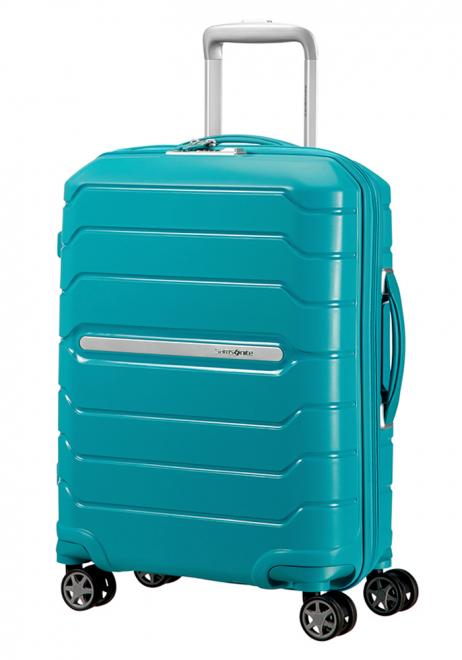 Samsonite Flux 55cm Spinner Suitcase in Ocean Blue