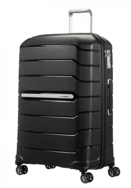 Samsonite Flux 75cm Spinner Suitcase in black