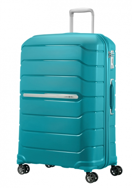 Samsonite Flux 75cm Spinner Suitcase in Ocean Blue