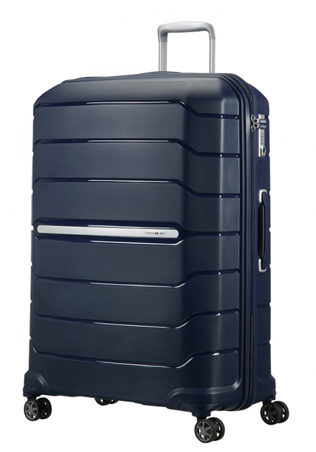 Samsonite Flux 81cm Spinner Suitcase in Navy Blue