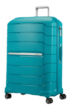 Samsonite Flux 81cm Spinner Suitcase in ocean Blue