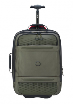 Delsey Montsouris 55cm Backpack with Wheels in Cactus