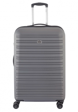 Delsey Segur 70cm Spinner Suitcase in Grey