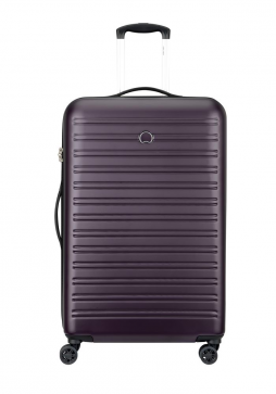 Delsey Segur 78cm Spinner Suitcase in Lilac
