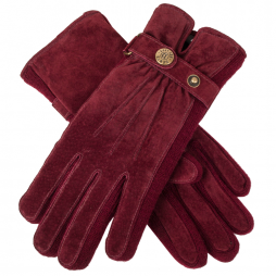 Dents Laura Ladies Gloves in Claret