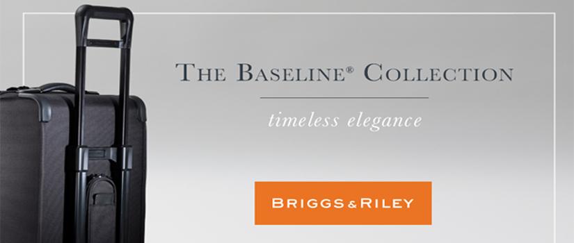 Briggs & Riley Baseline Banner