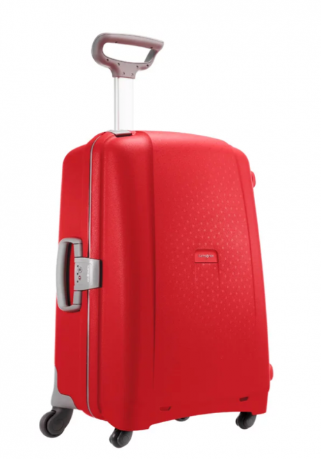 Samsonite Aeris Spinner 75cm in the colour red