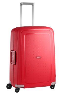 Samsonite S-Cure 69cm, in the colour crimson red