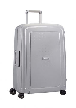 Samsonite S-Cure 75cm in the colour sliver