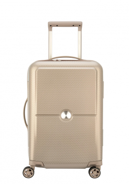 Delsey Turenne 4 Double Wheels Trolly Case 55cm in the colour beige