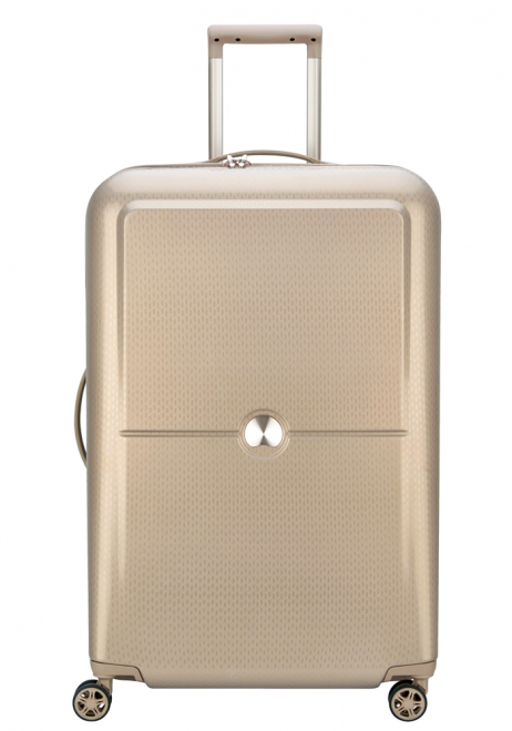 Delsey Turenne 4 Double Wheels Trolly Case 77cm in the colour Beige