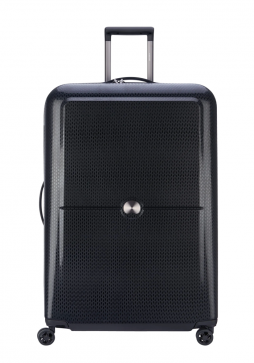Delsey Turenne 4 Double Wheels Trolly Case 82cm in the colour Black