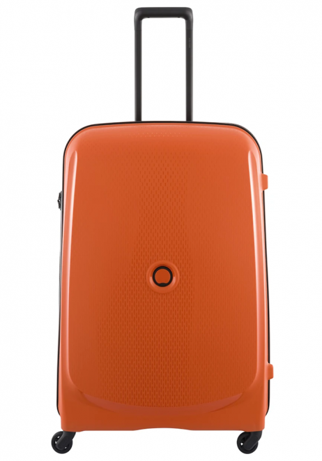 Delsey Belmont 4 Wheel Trolly Case 76cm in the colour Orange
