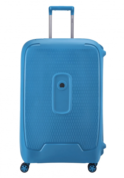 Delsey Moncey Spinner Suitcase 76cm in the colour Light Blue