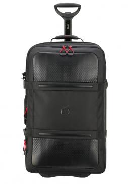 A Black Delsey Montsouris 68cm Suitcase