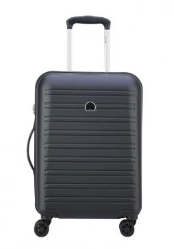 A Black 55cm Delsey Segur Suitcase
