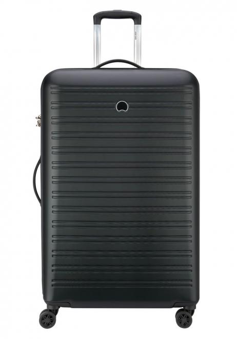 A Black 81cm Delsey Segur suitcase