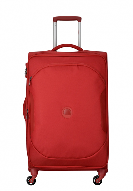 Delsey U Lite Classic 2 68cm 4Wheels Spinner Trolly Case in the colour red