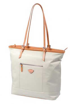 Jump Cassis Riviera Soft Shopper bag in the colour Beige