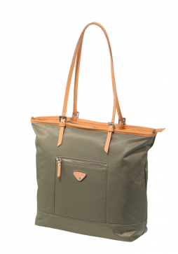 Jump Cassis Riviera Soft Shopper bag in the colour Olive