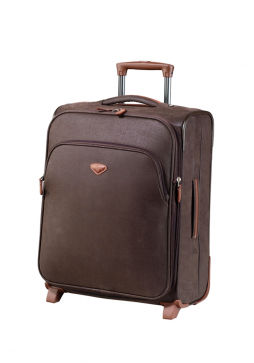 Jump Uppsala Extendable 2 Wheel case 55cm in the colour Chocolate