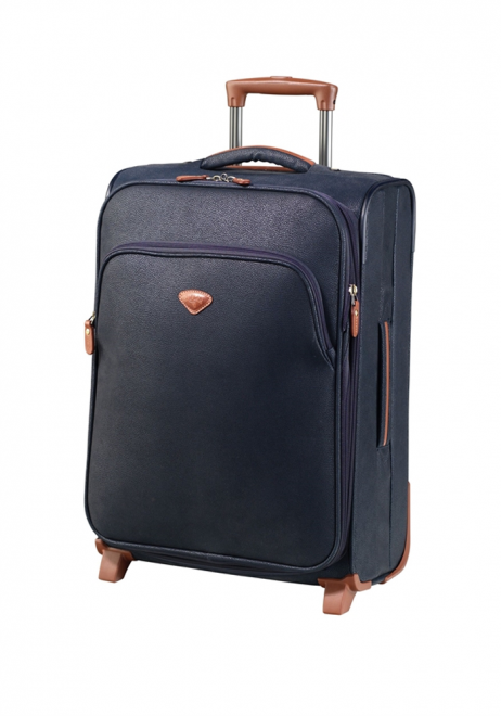 Jump Uppsala Extendable 2 wheel case 55cm in the colour Navy
