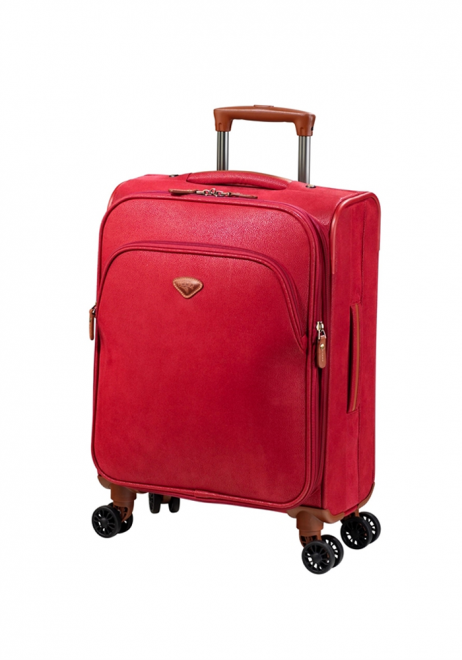 Jump Uppsala Extendable spinner suitcase 55cm in the colour Red
