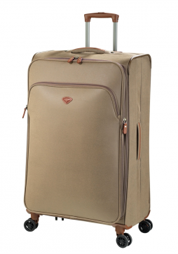 Jump Uppsala Extendable spinner suitcase 78cm in the colour Otter