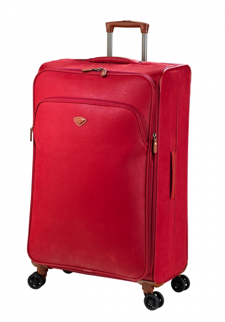 Jump Uppsala Extendable spinner suitcase 78cm in the colour Red