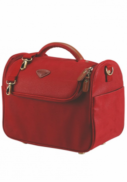 Jump Uppsala 4456 Cosmetic bag in the colour Red
